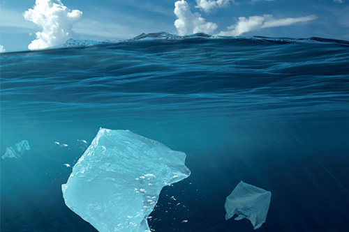 de déchets plastiques ne sont pas recyclés